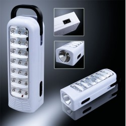 Lampe LED de secours 21 LEDs - 1300 mAh